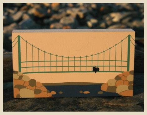 Wiggly Bridge, York, Maine