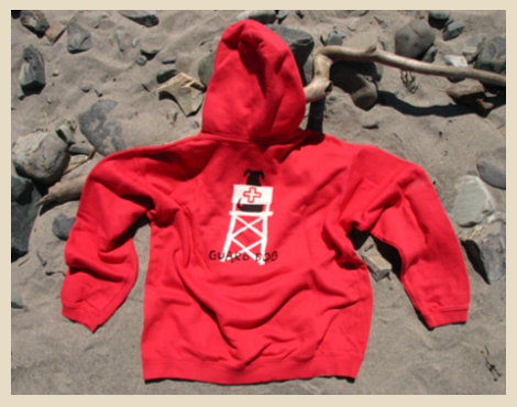Guard Dog Hooded Sweatshirt or Hoodie, York Beach, Maine
