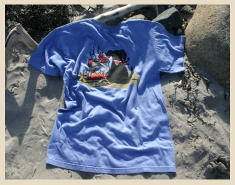 Lobster Dog T-shirt, York Beach, Maine